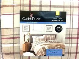 duds sheets bedding new full heavyweight flannel sheet set red khaki plaid cotton reviews cuddl gray
