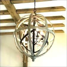 large metal sphere chandelier wood twig or pendant light simple white washed globe round wooden orb extra large sphere chandeliers