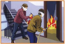 Что надо делать если случился пожар в квартире  пожарная безопасность
