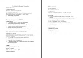 dietitian resume amazing clinical dietitian resume contemporary best examples and