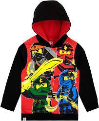 LEGO Ninjago Boys Ninjago Hoodie: Amazon.ca: Clothing & Accessories