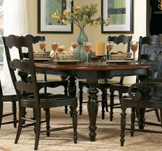 Round Kitchen Tables For 4 Black Round Kitchen Table Set Transfey Decoration