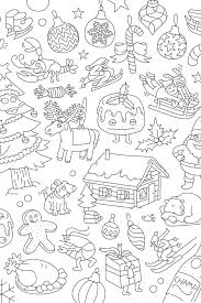 Christmas Coloring Paper A 24 Pack Of Coloring Placemats With Christmas Patterns Made From