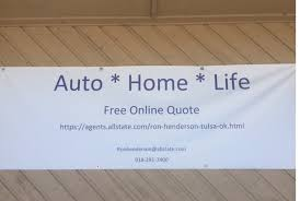 Allstate Car Insurance In Tulsa OK Ron Henderson Enchanting All State Quote
