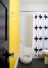Marvelous Small Bathroom Designs Leaves You Speechless - Yellow and white bathroom