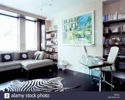 faux zebra hide rug area ideas