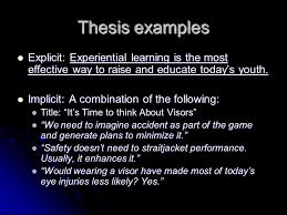 essay analysis unit ppt video online thesis examples explicit experiential learning is the most effective way to raise and educate today s
