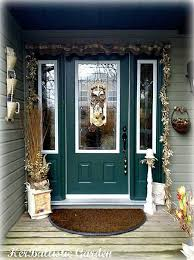 garland door decoration