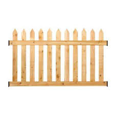 fence panels.  Panels 312 Ft H X 6 W Cedar Spaced Picket For Fence Panels S