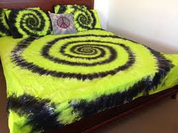 delectable tie dye spiral swirl bedding doona cover set blue a8b976faaf1321bcd556249cc