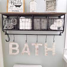 For bathroom wall decor with more permanence, create a tile accent. 15 Bathroom Shelf Ideas For A More Organized Home