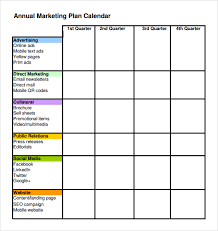 schedule plan template advertising plan template 7 marketing proposal templates sample
