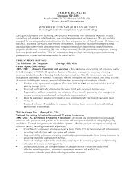 Recruiting Resume Free Resume Example And Writing Download