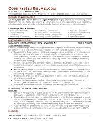 Legal Resume Format Proyectoportal Com