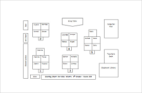 Classroom Seating Chart Template 10 Free Sample Example