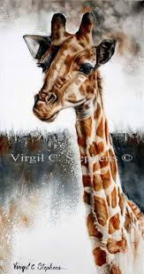 standing tall giclee print from the original oil painting by virgil c stephens