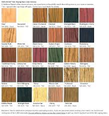 Floor Stain Color Chart Woodsman Deck Stain Color Chart Freeproxylist Co