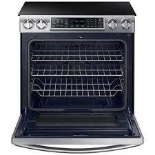 samsung induction range. samsung appliances 5.8 cu. ft. slide-in induction range with virtual flame\u0026trade; 0