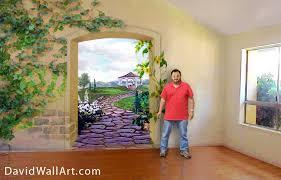 nature wall mural art
