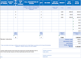 Printable Excel Invoice Download Them Or Print