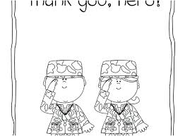 Coloring Veterans Day Thank You Coloring Page Soldier Pages Thank