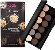 paleta 12 cieni sleek makeup au naturel 601