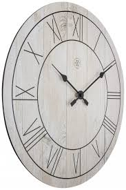 large white paul wall clock the