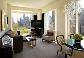 One Bedroom Suite New York Executive One Bedroom Park View Suite Living Room Trump