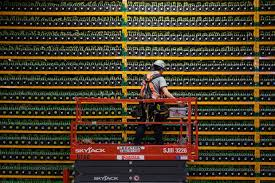 Mining hardware is actually what does the mining, but the mining software is also quite an important aspect, as it can connect you to bitcoin's blockchain, or to the mining pool. A Crypto Miner Cuts Costs And Rides Bitcoin S Price Rise Wsj