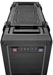 vengeance® c70 mid tower gaming case gunmetal black