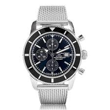 mens breitling watches the watch gallery breitling superocean heritage chronograph automatic mens watch a1332024 b908 152a