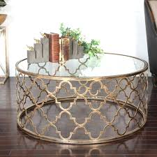 enchanting gold round side table coffee table narrow accent table marble coffee
