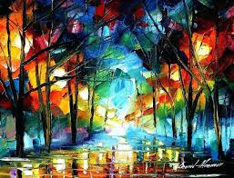 pallet knife paintings oil painting using only a knife 1 breathtaking oil paintings using only a