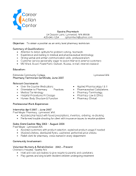 Pharmacy Tech Resume Template Beauteous Pharmacy Technician Resume Sample Is One Of The Best Idea For You To