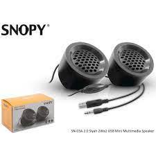 Snopy SN-03A 2.0 2Wx2 USB Bilgisayar Hoparlörü Multimedia Speaker - Tosun  Elektronik - En ucuz elektronik aletler