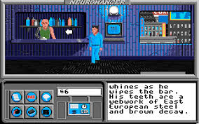 apple 2gs. neuromancer was created and distributed (via activision) by interplay productions for the apple iigs in 1989. 2gs