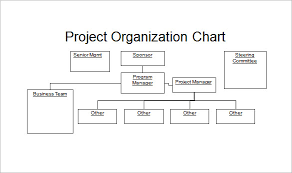 Sample Project Organization Chart Project Organization Powerpoint Sample Chart Template