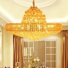 Chandelier Little Girl Room Modern Gold K Crystal Chandelier Big - Dining room crystal chandeliers
