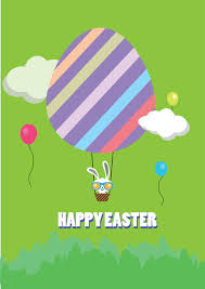 happy easter free vector in adobe