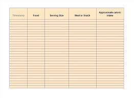 Exercise Log Template 8 Free Doc Download Sample Templates Learning ...