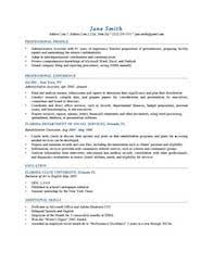 Resume Template Johansson Blue