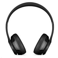 the beats solo3 wireless on ear headphones gloss black up to 40 hours of mnen2pa a pbtech co nz