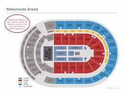 Capitals Interactive Seating Chart Verizon Center Concert Seating Chart Rows Arena Gwinnett