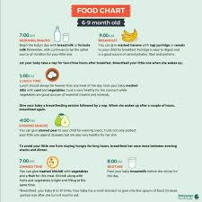 Please Share The Diet Chart For 6 Month Old Baby