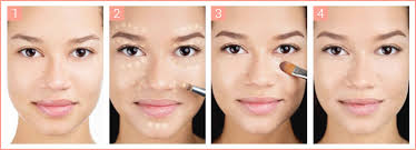 steps on how to apply makeup properly