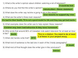 what s the topic of our essay ppt video online  4 2