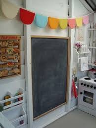 playhouse furniture ideas. i like the idea of decorating inside with a chalkboard which have and playhouse furniture ideas