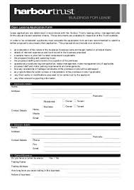 Lease Application - Std - Ask Nagel