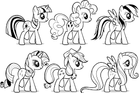 Small Picture My Little Pony Free Coloring Pages Children Coloring Pilular