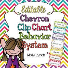 Chevron Clip Chart Behavior System Editable Version Included